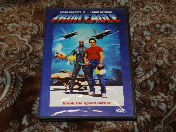 Iron Eagle (DVD, 1999) OOP 1st Columbia/Cult '80s Louis Gossett Jr/David Suchet!