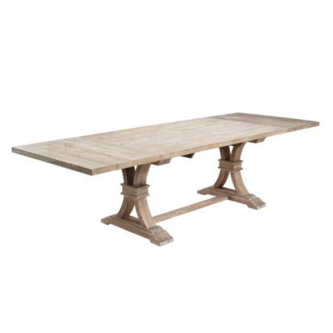 Archer dining table z gallerie under a overpass for Z gallerie dining room table