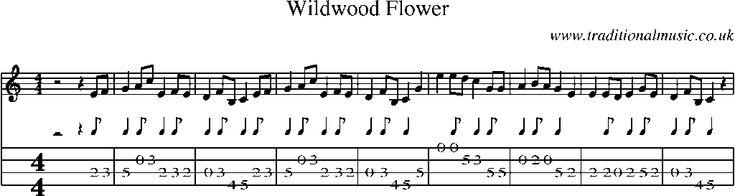 mandolin tab sheet music wildwood flower mandol na mandolin pinterest see best ideas. Black Bedroom Furniture Sets. Home Design Ideas