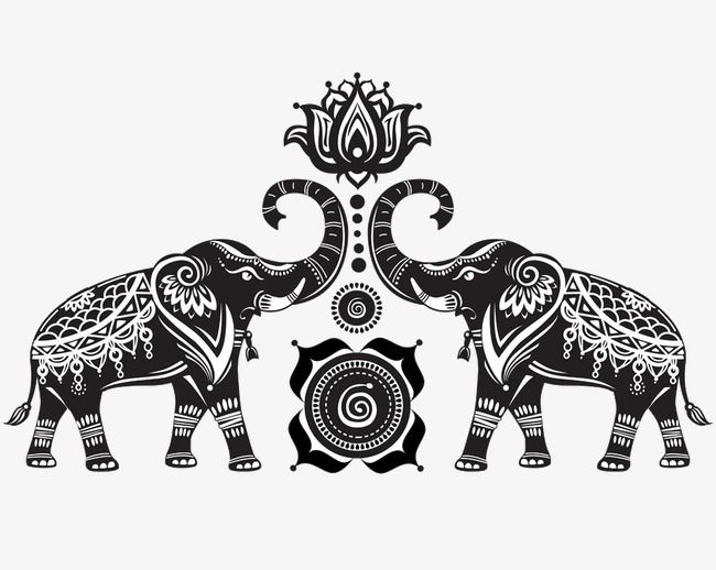 Elephants And Lotus Elephant Retro Pattern Png And Vector Elephant Drawing Elephant Images Tribal Elephant Drawing Download this free vector about decorated indian elephant neon sign, and discover more than 10 million professional graphic resources on freepik. pinterest