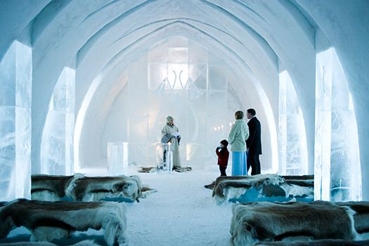 Ice Hotel - Jukkasjarvi Sweden   I've been to the Ice Bar in London, but never the hotel in Sweden! How cool (literally) I wonder if I would freeze though? #Cheapflights2013