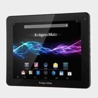 Kruger&Matz  KM0974 Tablet 9.7 Interfejsy Tablet został wyposażony w złącze microUSB, gniazdo na karty microSD oraz złącze miniHDMI, które razem dają możliwość swobodnej wymiany plików oraz przeniesienia widoku gier i filmów na ekran telewizora.  Design Tablet jest utrzymany w stonowanej stylistyce. Dodatkowo jest trwały i waży zaskakująco niewiele.  Produkt w kolorze czarnym.