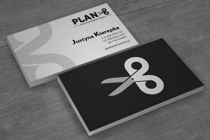 business cards Plan B