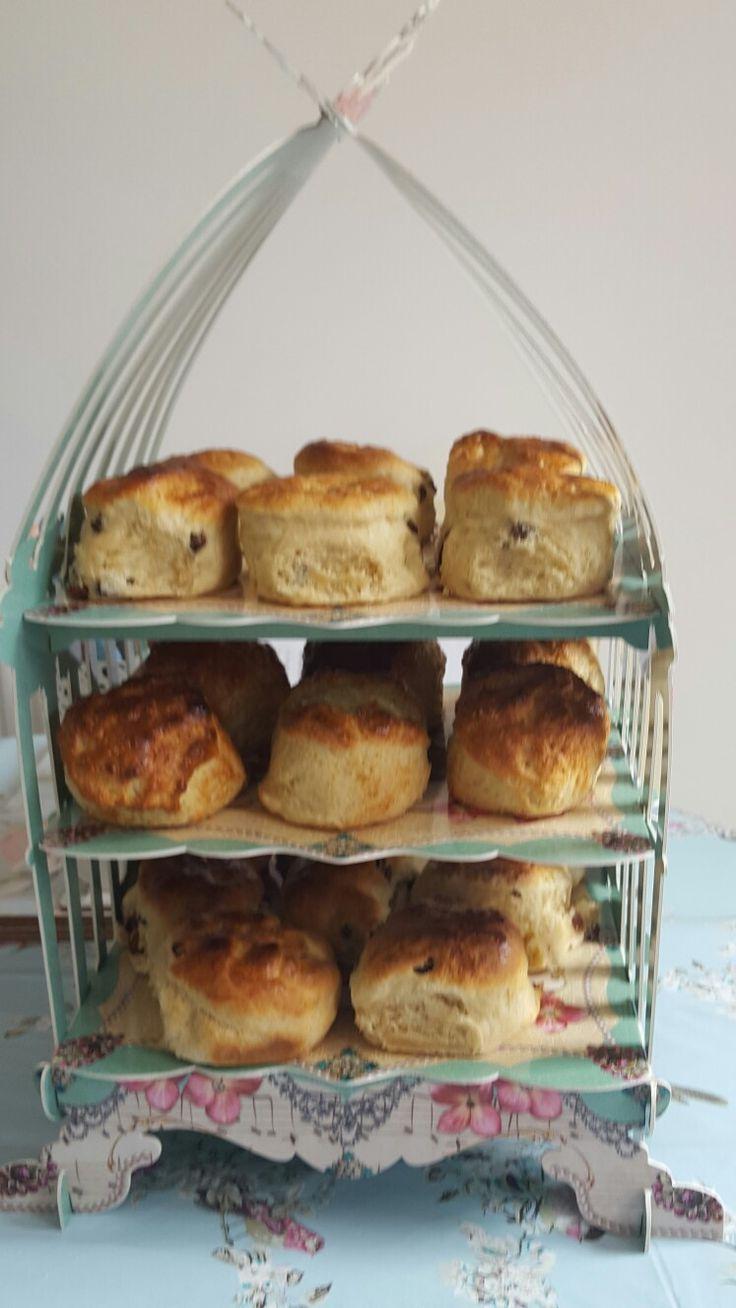 Beautiful homemade scones