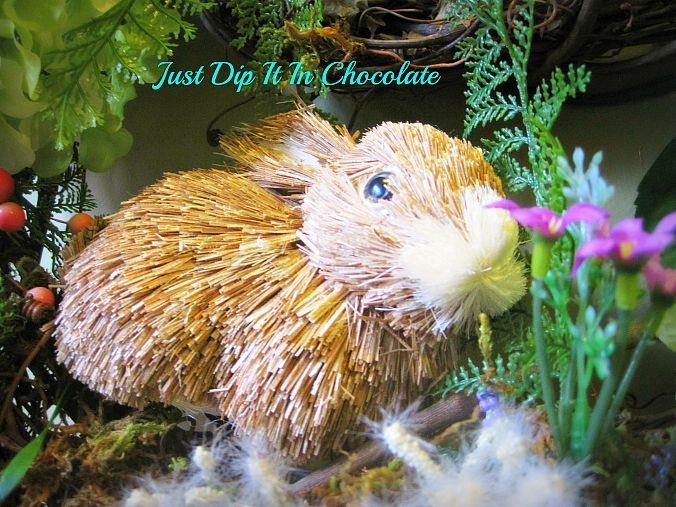 Rabbit Burrow Spring Wreath