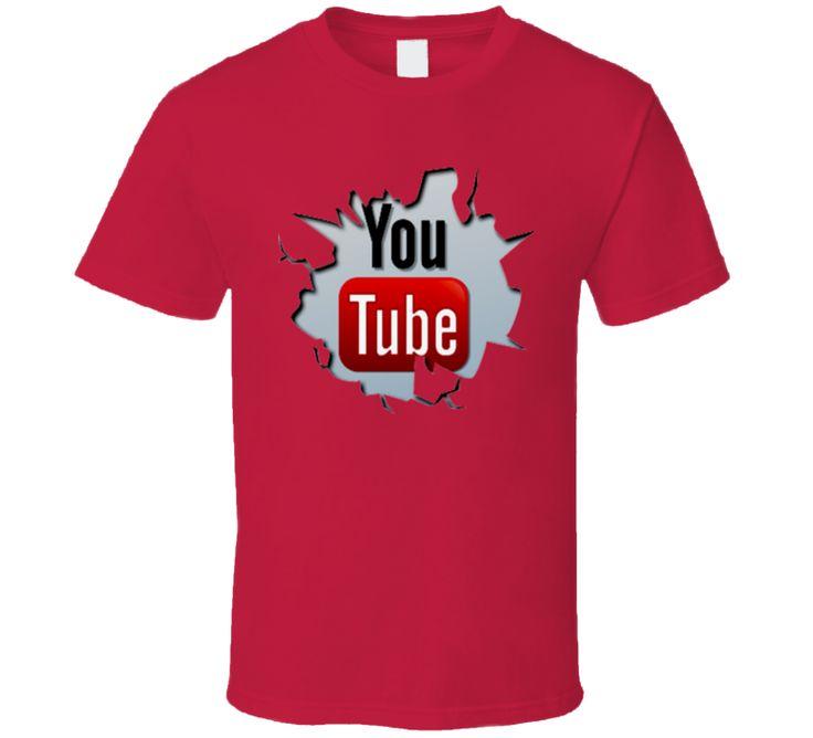 Youtube  You Tube  Logo T Shirt
