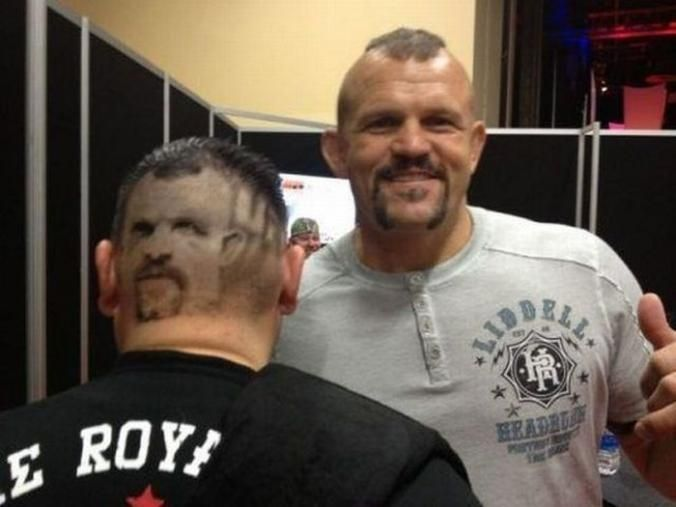 Nothing Keeps You Alert... ... like always having Chuck Liddell right behind you. Always.