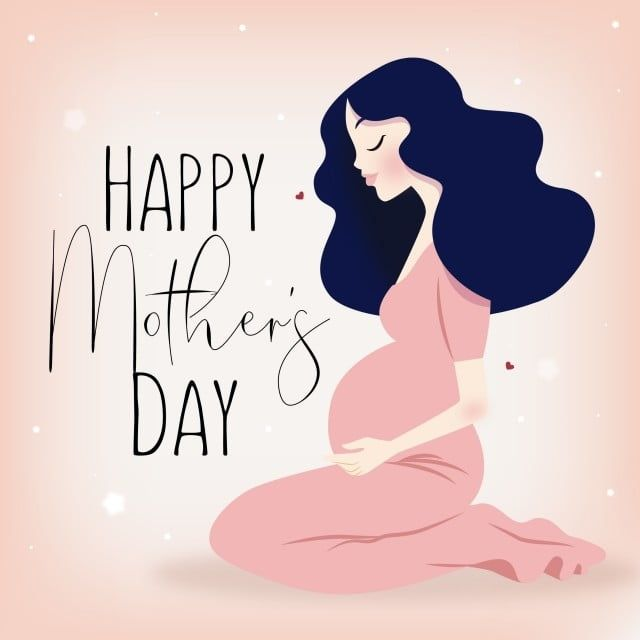 Happy Mother S Day Pregnant Mother Baby Baby Character Baby Food Png And Vector With Transparent Background For Free Download Pregnant Mother Happy Mother S Day Happy Mothers Day