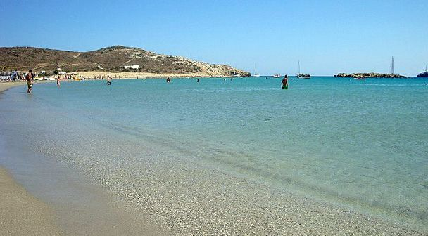 Maganari beach, Ios Island, Greece- one of the best beaches I've been at!