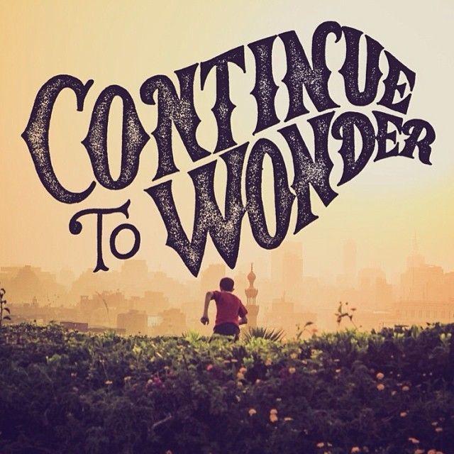 Continue to Wonder by Cymone Wilder