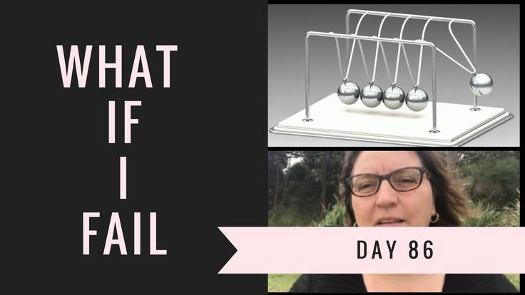 What if I fail - day 86 of 90 Day Video Challenge