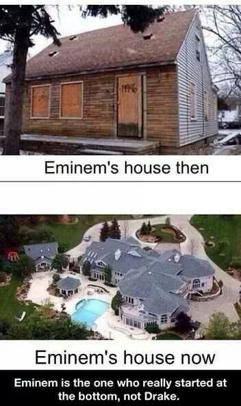 Amen! Dear Drake, you're still not good. Sincerely, Eminem is the king.