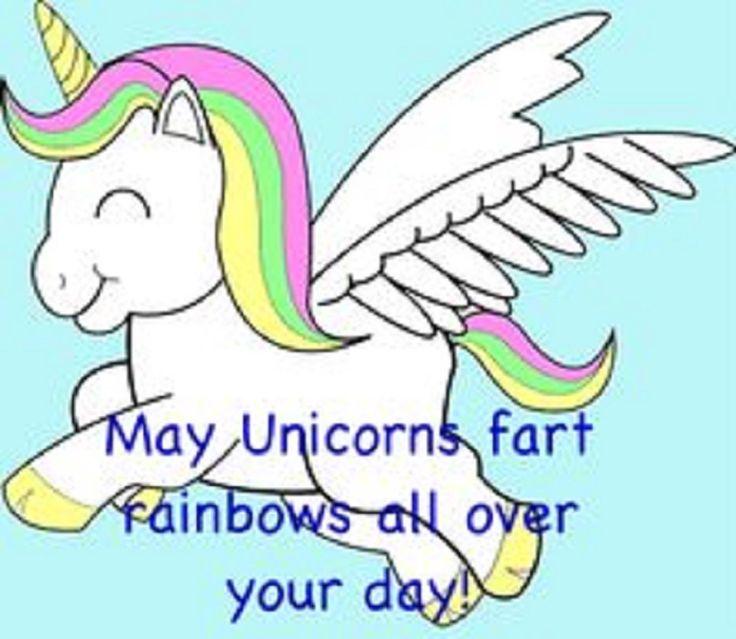 Unicorn farts Haha funny unicorn humor
