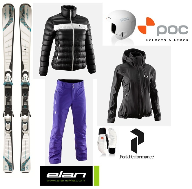 Outfit SKI#3: PEAK PERFORMANCE + POC HELMETS + ELAN SKIS
