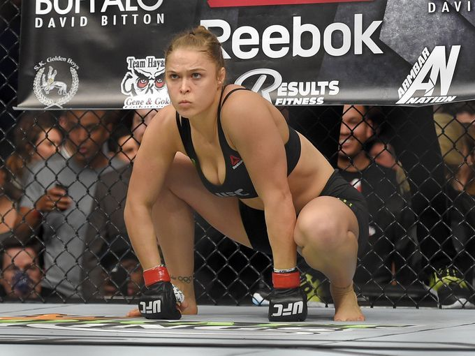 Rousey is ready to pounce on Zingano at UFC 184.
