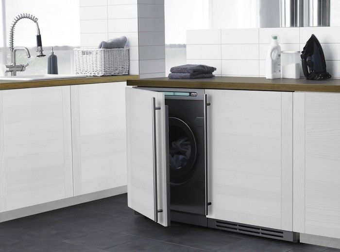 Built In Washer Part - 33: Little Giants: Compact Washers And Dryers