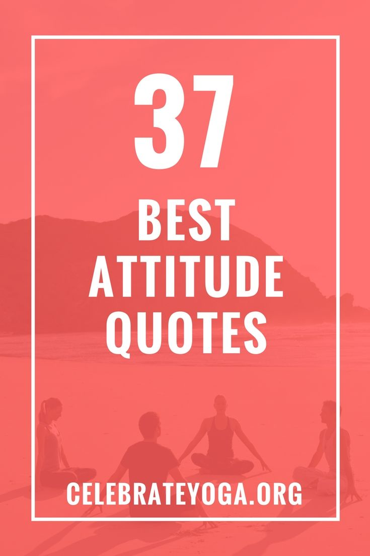 37 Best Attitude Quotes