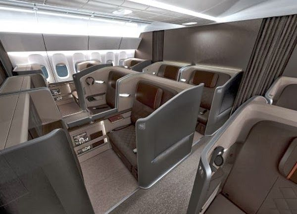 First Class Interior by BMW - IcreativeD