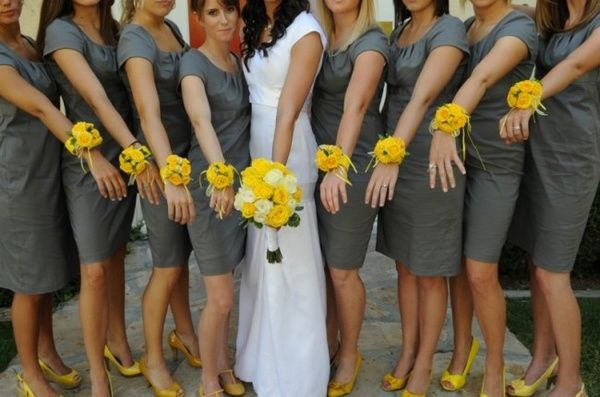 I don't know if you are planning to do flowers, but this is a really cute idea rather than having individual bridesmaid bouquets-they can have wrist corsages!! wrist corsages for your bridesmaids | full DIY tutorial on oh lovely day