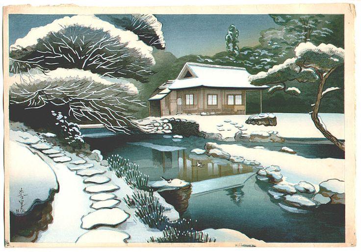 Pinturas Japonesas -CHIKANOBU TOYOHAR4A