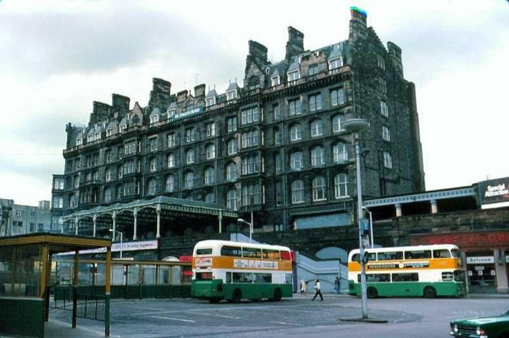 Glasgow in the 1960s, 70s & 80s - St Enoch's Square. - St Enochs Hotel was extremely grand and plush. All pulled down now, that space and the train station is now a large shopping centre. Thant's progress !