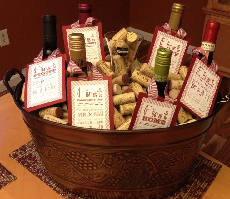 Wine As Wedding Gift: 14 Best Wedding Milestone Wine Tags Images On Pinterest