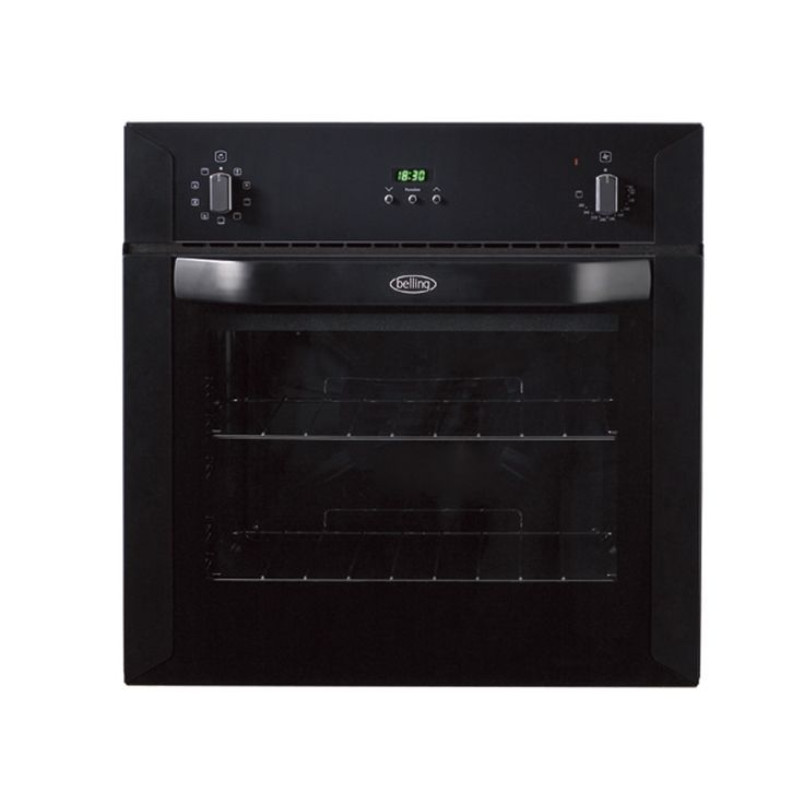 Built-in 60cm electric multi-function oven - black #Belling #UKmade #madeinBritian #British #cooker