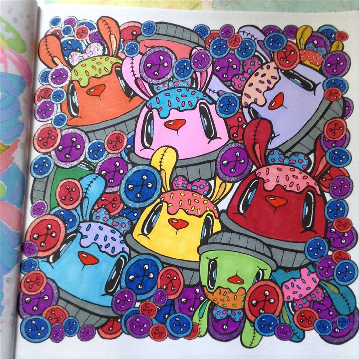 Kawaii colouring