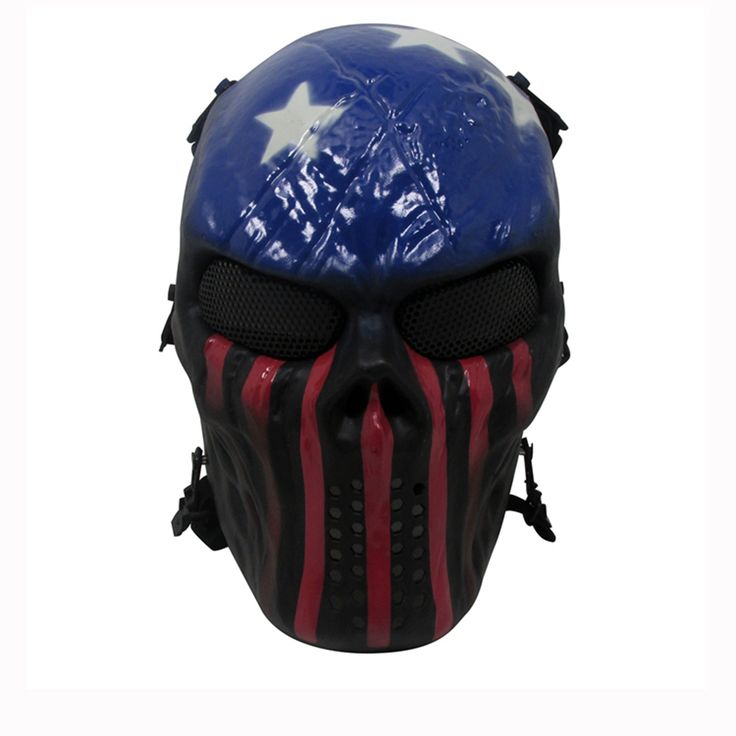 Sale 22% (12.99$) - Tactical Warrior Military Wargame Paintball CS Field Equipment Airsoft Full Face Mask