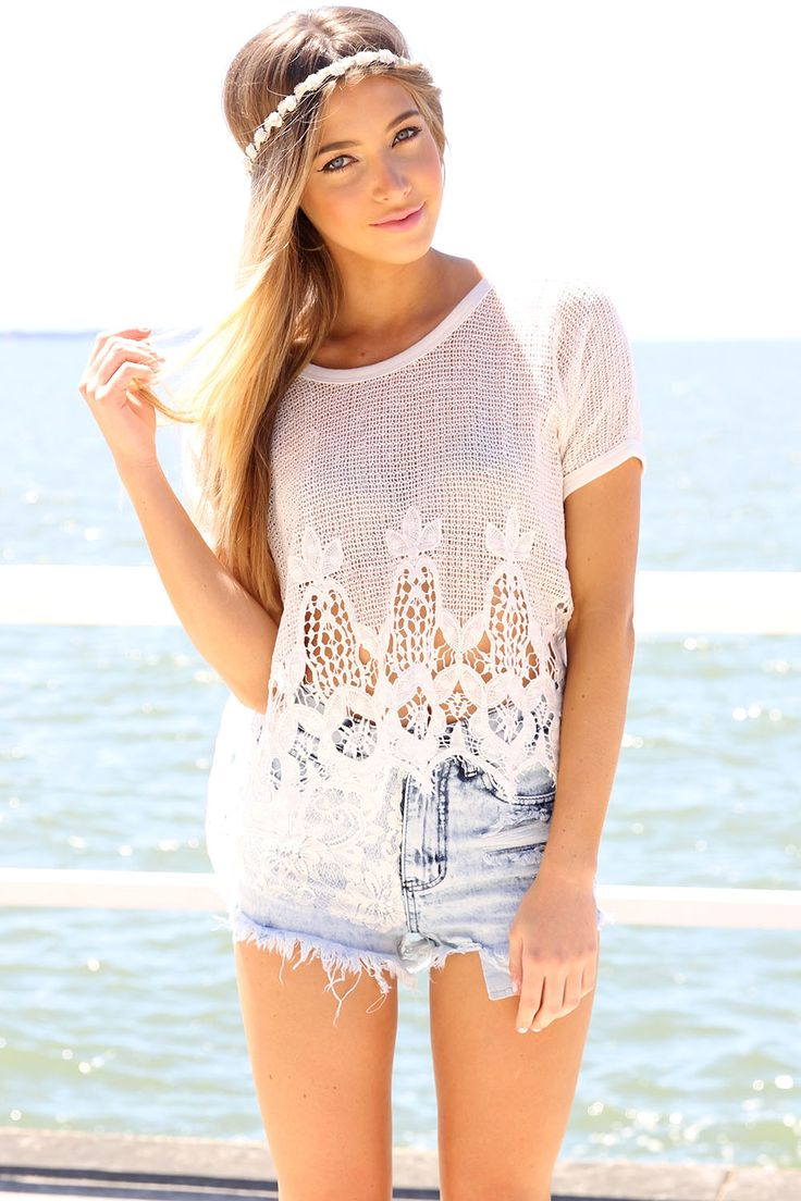 """Beachy """"angel"""" outfit.♥"""