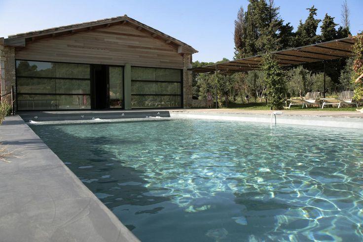 Béton ciré terrasse, piscine, sol extérieur, béton décoratif extérieur