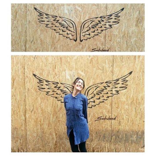 wings #wings #subdued #subduedarezzo #girl #arezzo #murales #muralart #mural #cute #love #arrwork #danodivano #ali #alinere #streetart #art #artist #artoftheday (presso Centro Storico Arezzo)