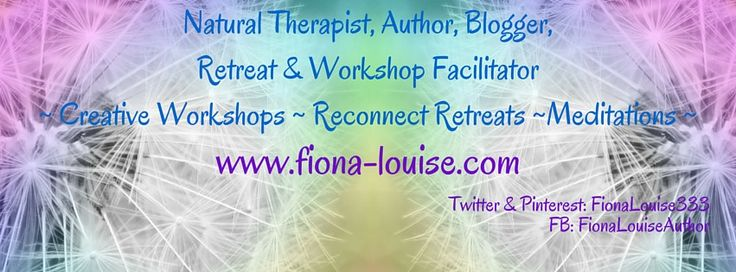 http://www.fiona-louise.com #reiki #naturaltherapist #author #writer #blogger #retreatfaciliator #creativemeditative #workshopfacilitator #meditation #holistichealing #heal #soul