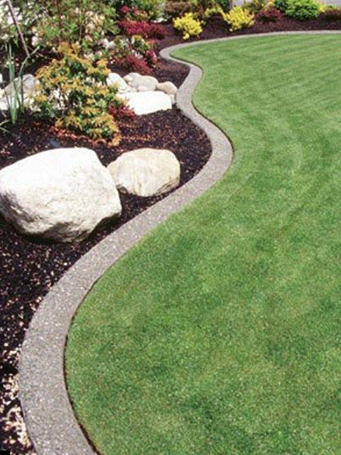 20 Lawn Edging Ideas For A Heaven Backyard In 2020 Landscape