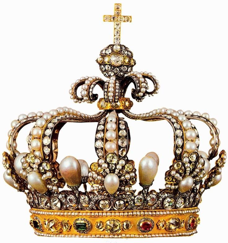 Coronet of Bavarian QueenCrowns Collection, Crowns Step, Crowns Pin