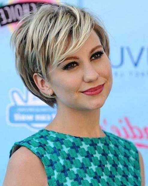 haircuts with bangs for round faces 2015 - Google Search