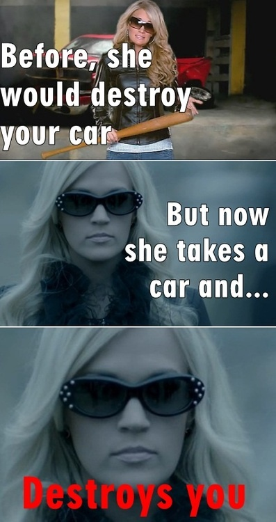 Gotta love Carrie Underwood!