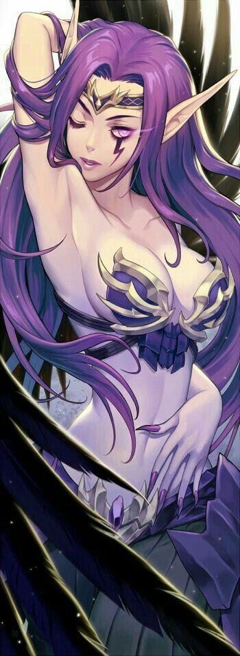 Fan art of Morgana from League of Legends