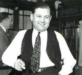 George Clarence Moran (August 21, 1891 – February 25, 1957), better known as Bugs Moran, was a Chicago Prohibition-era gangster. He moved to the north side of Chicago when he was 19, where he became affiliated with several gangs. He was incarcerated three times before turning 21. On February 14, 1929, in an event that has become known as the Saint Valentine's Day Massacre, seven members of his gang were gunned down in a warehouse, supposedly on the orders of Moran's rival Al Capone.