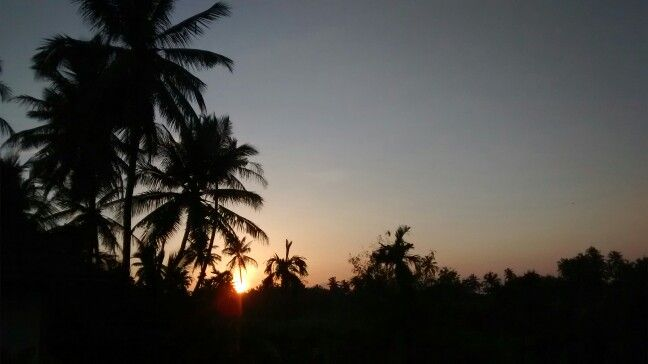 Sunset view from my terrace