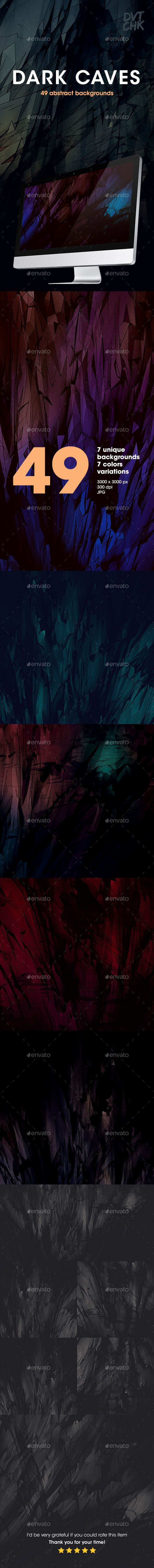 Dark Abstract Backgrounds. Download here: http://graphicriver.net/item/dark-abstract-backgrounds/12324378?ref=ksioks