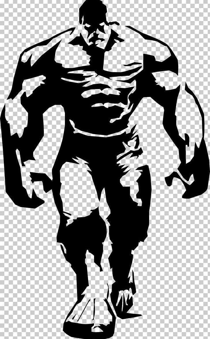Hulk Stencil Airbrush Superhero Png Arm Art Avengers Black Black And White Superhero Silhouette Hulk Art Silhouette Stencil