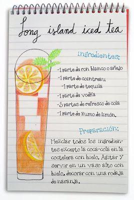 Long Island Ice Tea - Tequila, cointreau, ron, vodka, cola y limón.