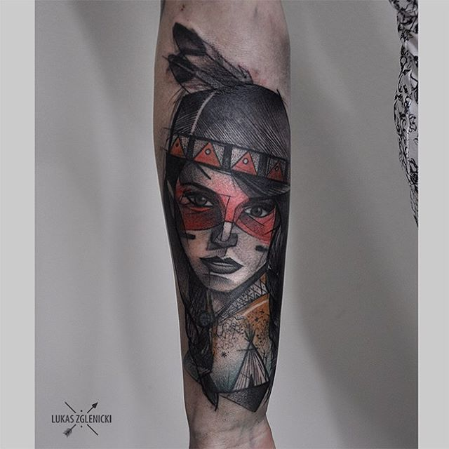 68 best images about indian tattoo on pinterest indian for Indian woman tattoo