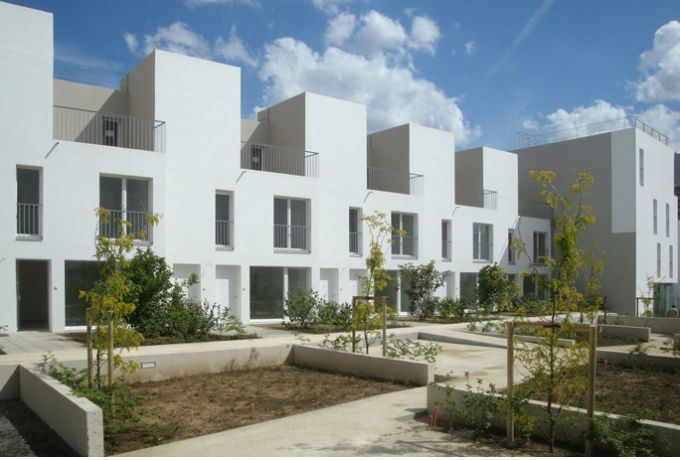 55 logements collectifs, quartier des Clos, La Courneuve - D'architectures