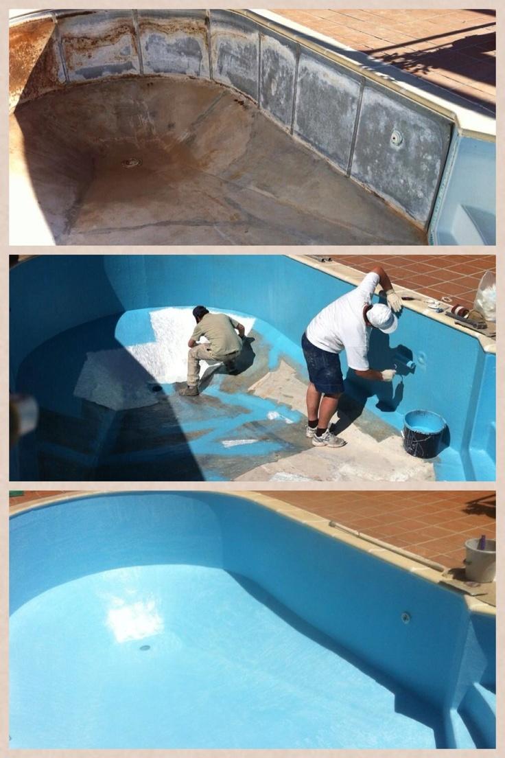 17 mejores ideas sobre piscinas fibra de vidrio en - Vidrio para piscinas ...