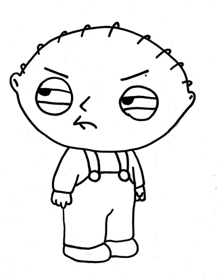 stewie coloring pages