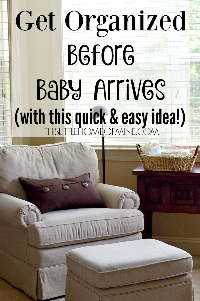 Newborn Baby Stations: Get Organized Before Baby Arrives - This Little Home of Mine #LetchLetsMe #MunchkinLatch #collectively #ad @munchkin