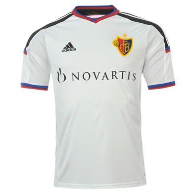 adidas FC Basel Away Shirt 2015 2016