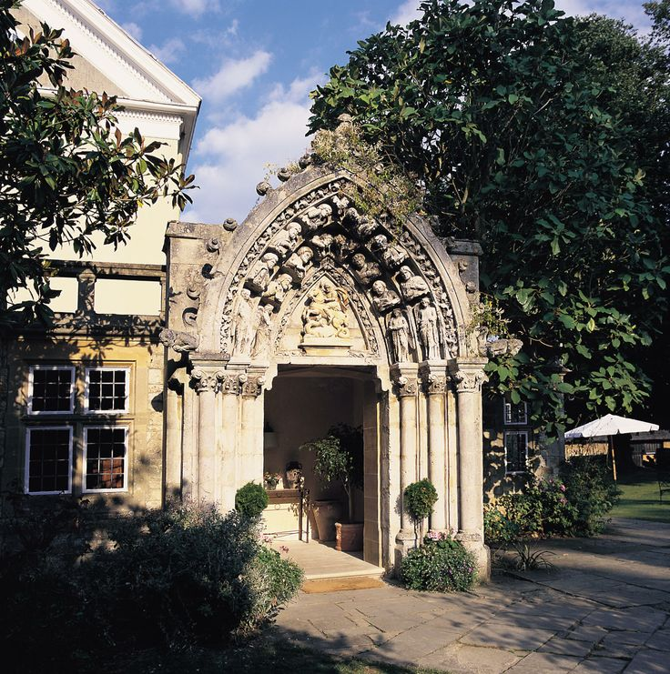 Priory Bay Hotel arch entrance, Seaview, Isle of Wight